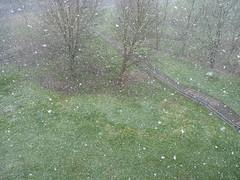Wintereinbruch im April