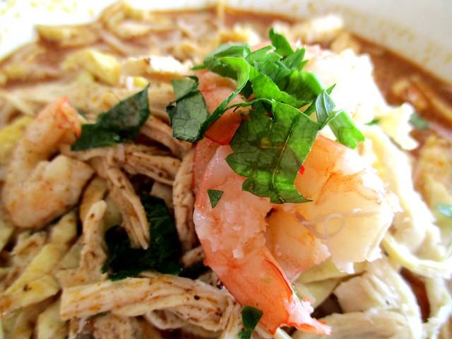 Thomson Corner Pedada Sarawak laksa, prawns