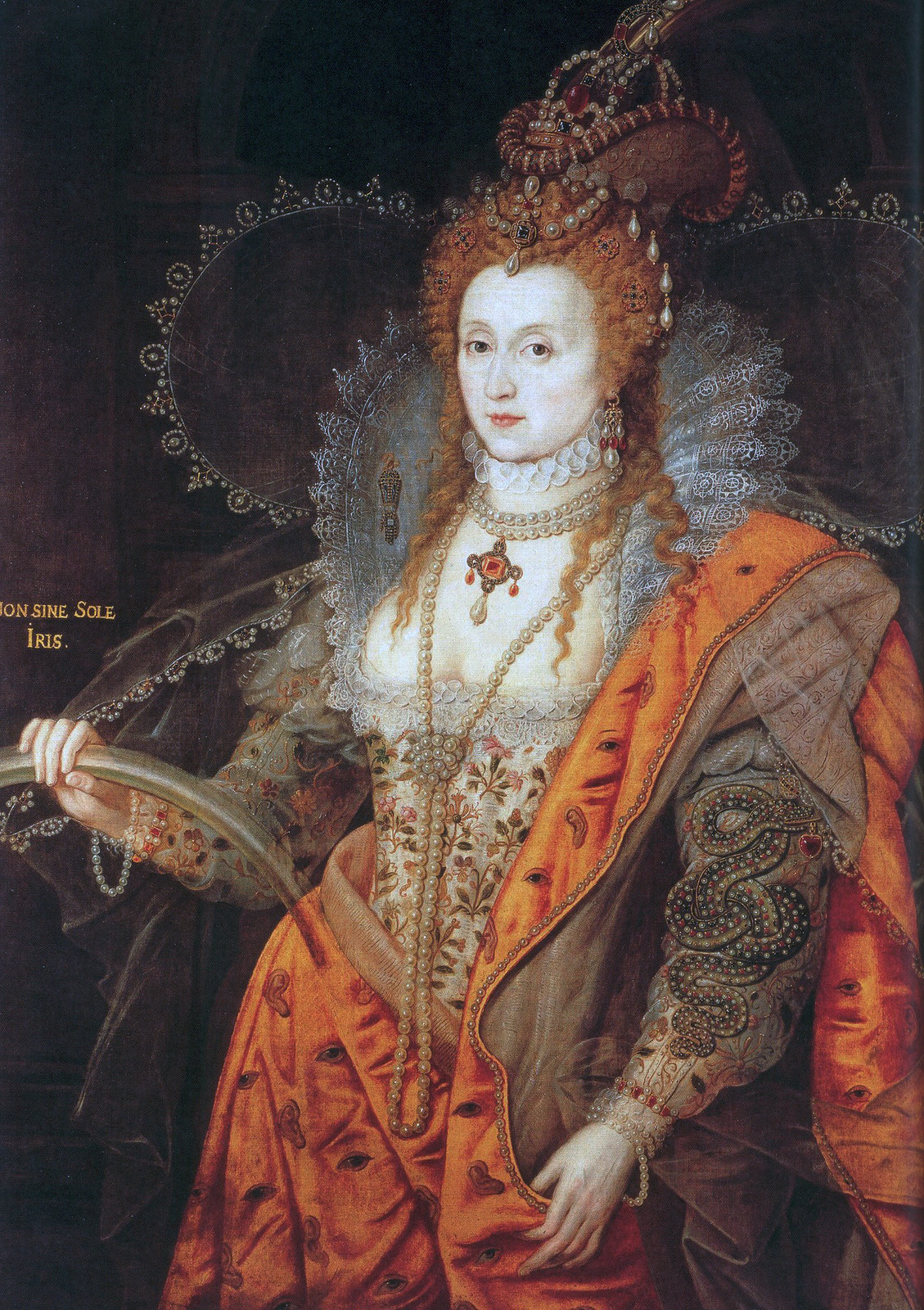 The Rainbow Portrait of Queen Elizabeth I, c1601.