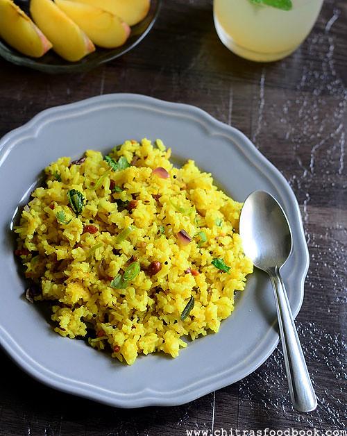 Kanda poha recipe Maharashtrian