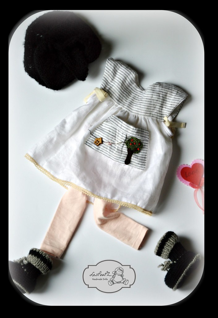 Amelia Set of Clothes, by LesPouPZ Handmade