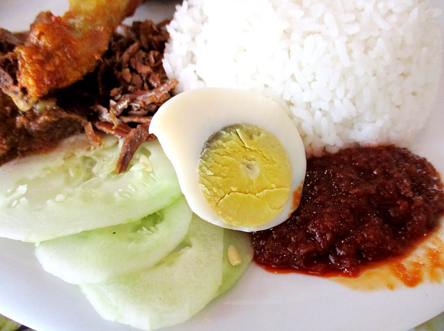 Noodle House nasi lemak, the usual suspects