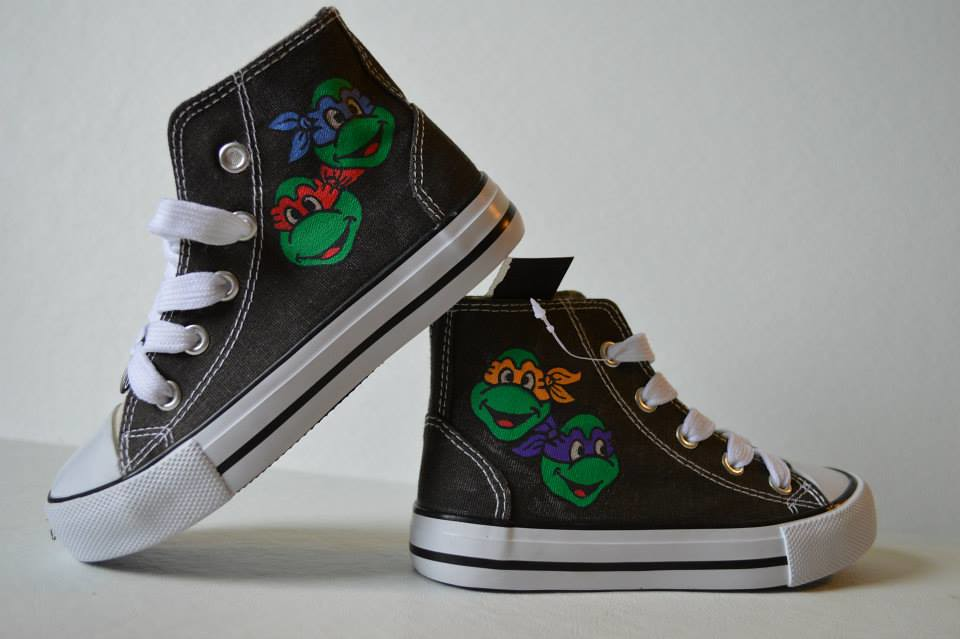 TMNT sneakers by SheriffKarli
