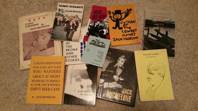 books by Jack Micheline