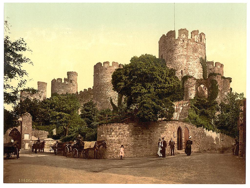 Conwy Castle entrance