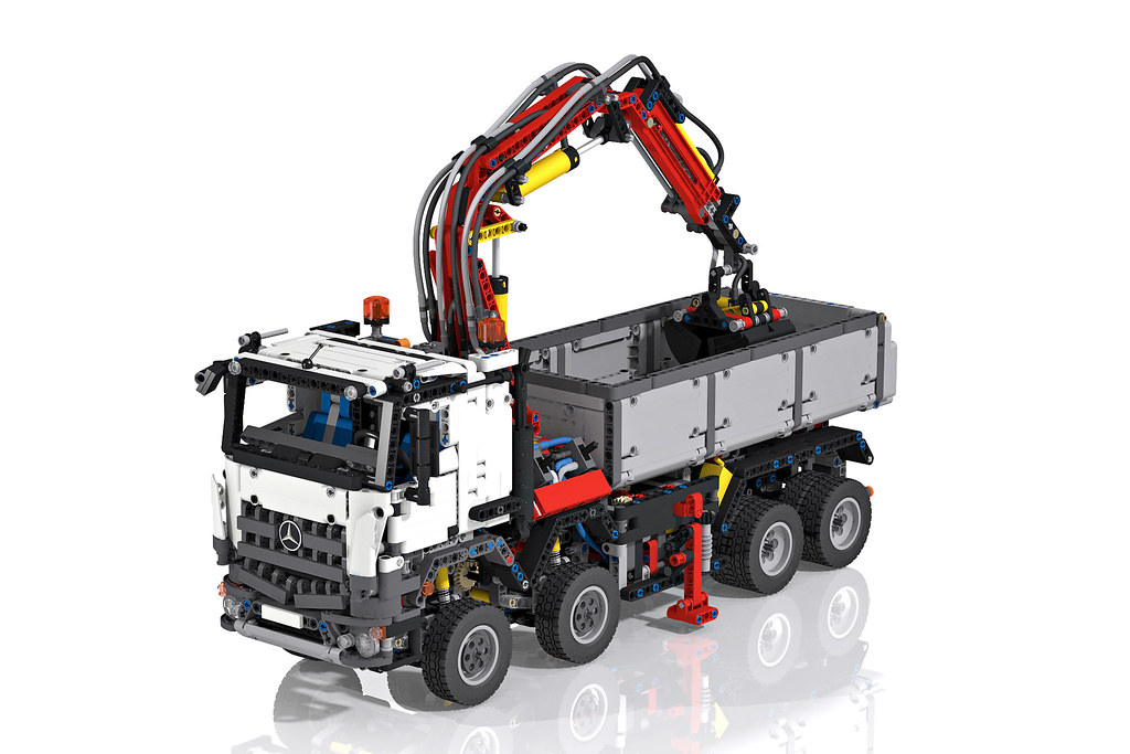 lego technic 42043 mercedes benz arocs 3245 high. Black Bedroom Furniture Sets. Home Design Ideas