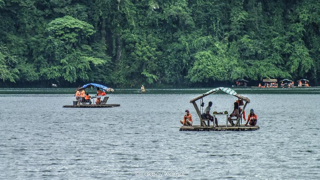 Lakbay Xiomai | San Pablo, Laguna - Pandin Lake Green water rafting