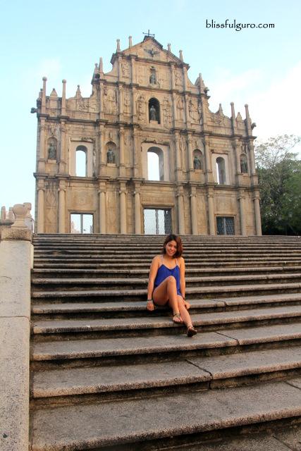 Ruins Of St. Paul Macau