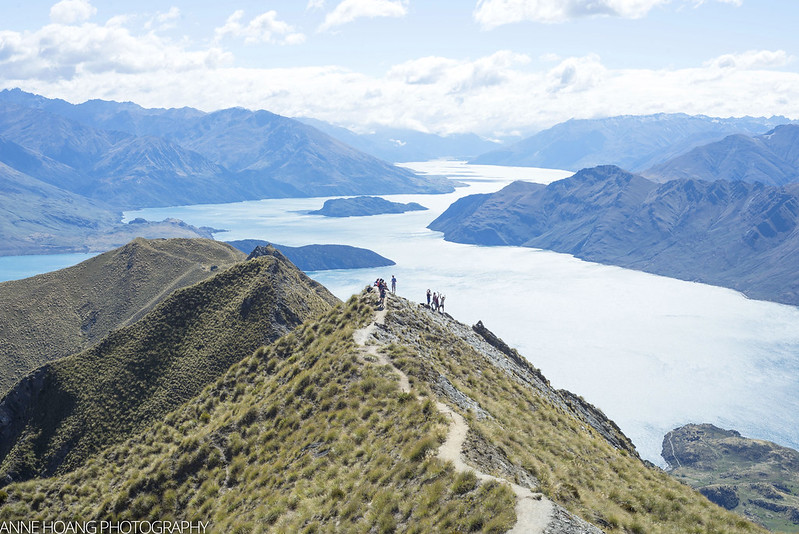 Roys Peak with view of Lake Wanaka