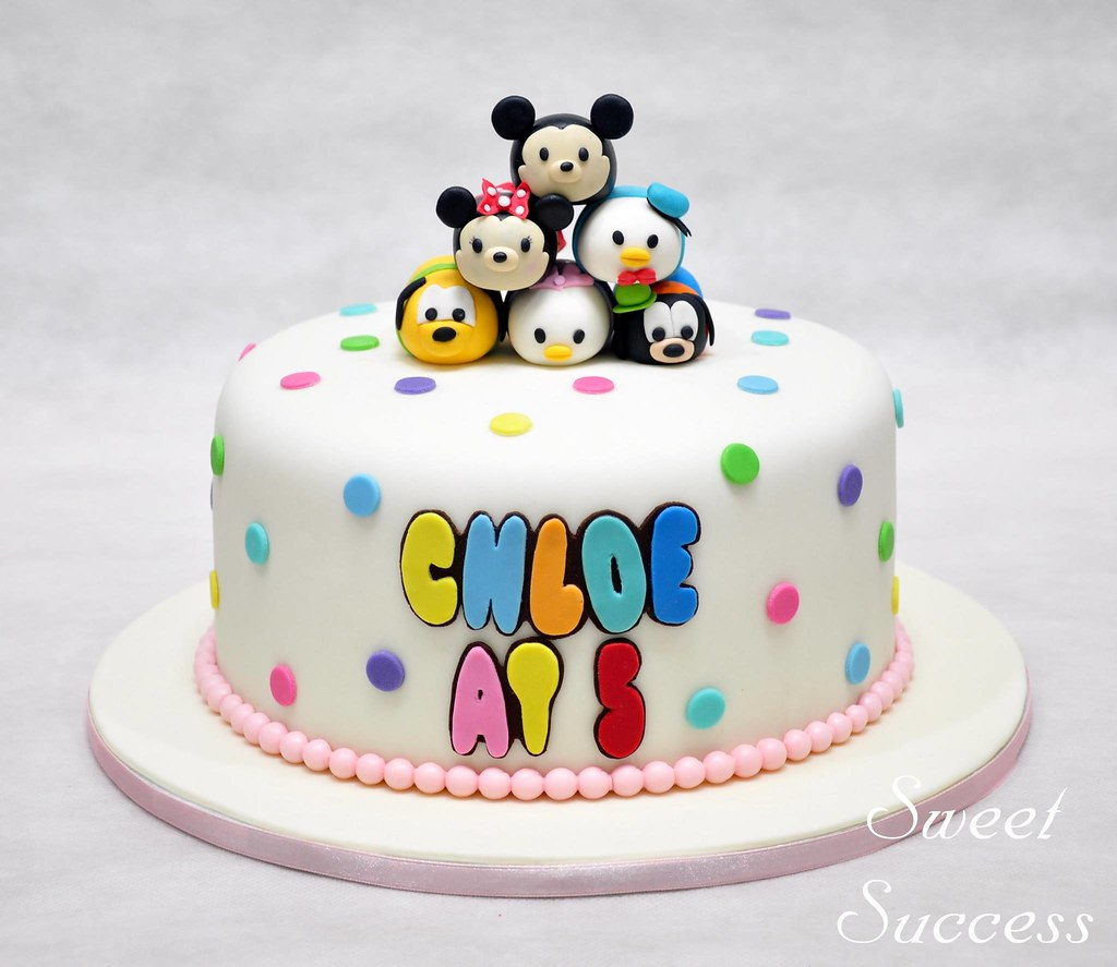 Tsum Tsum Cake We Are Addicted To These Cuties The