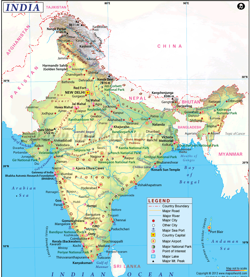 Top 5 Sites Where I Can Get India Maps