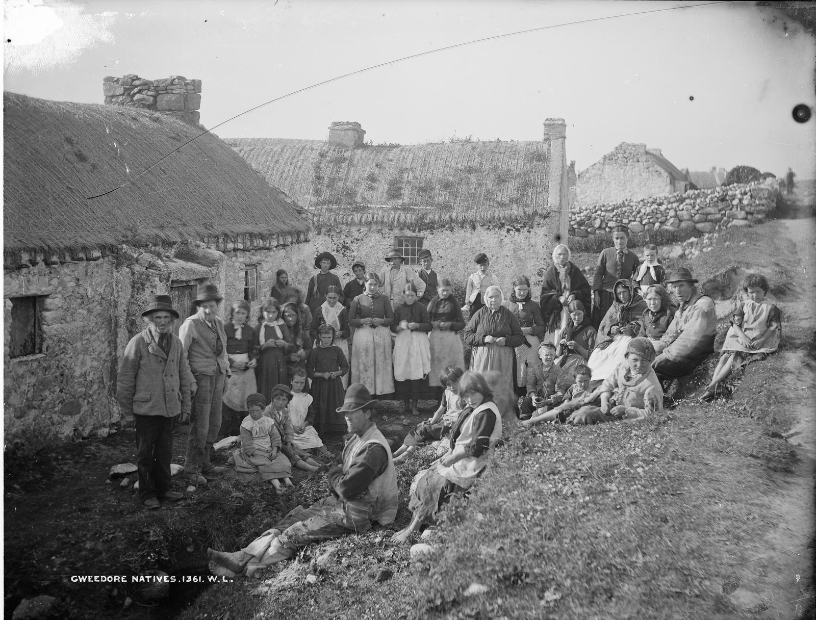Gweedore Natives, Gweedore, Co. Donegal | by National Library of Ireland on The Commons