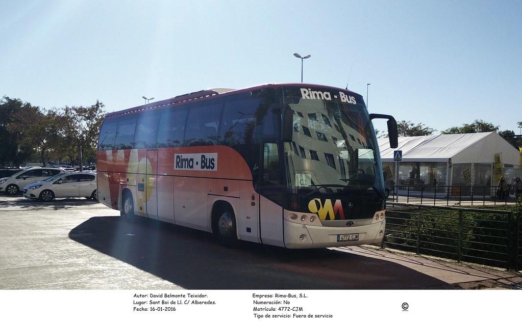 Rima bus 4772 cjm mercedes benz oc 500 rf 1842 beulas for Mercedes benz oc
