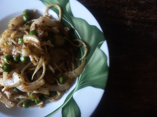 pasta mit fenchel, st.maure und oliventapenade