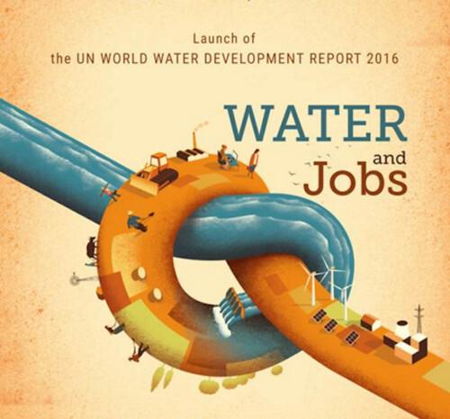 2016年世界水資源日主題:水與就業(圖片來源:UN water)