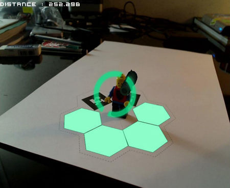 Preview new augmented reality App to launch 3D printing effect (video)
