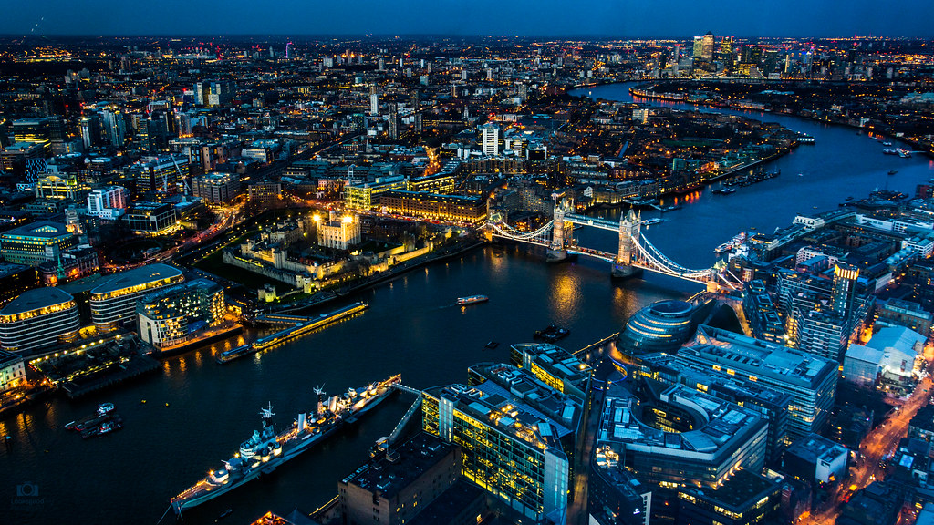 London Skyline by night 4K Wallpaper / Desktop Background  Flickr