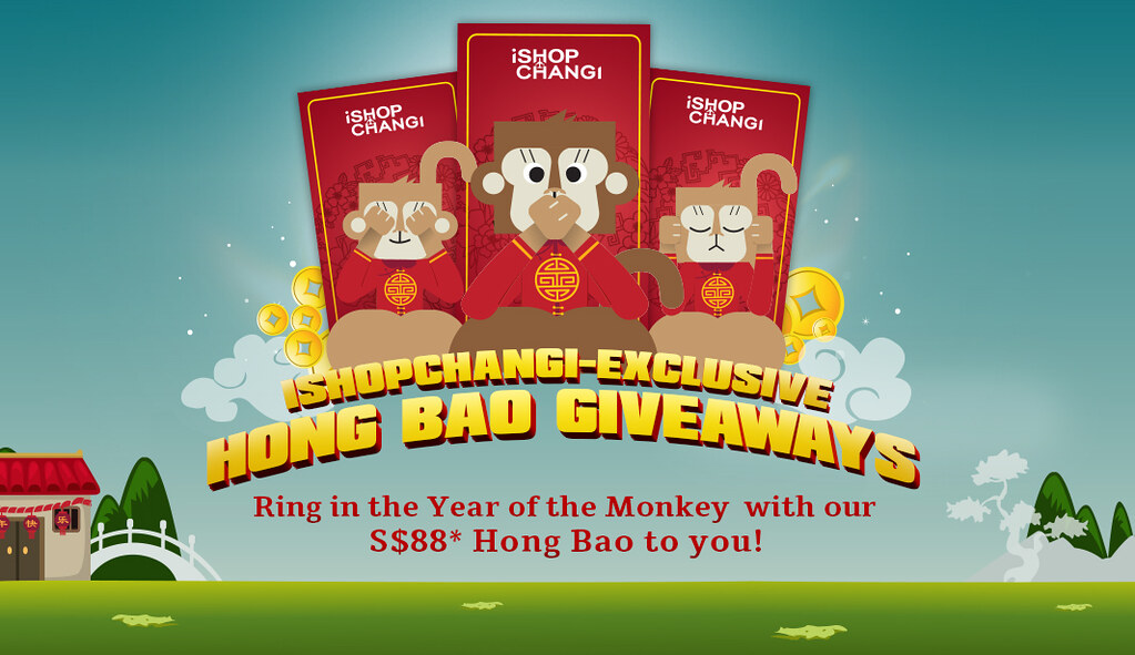 [CNY GIVEAWAY!] Huat with iShopChangi this Chinese New Year! - Alvinology