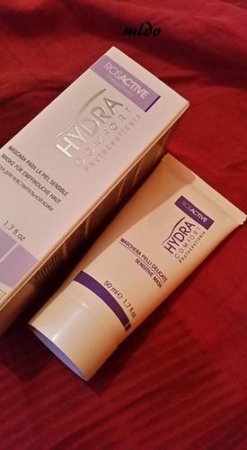 masque pour peaux sensibles hydracomfort rosactive