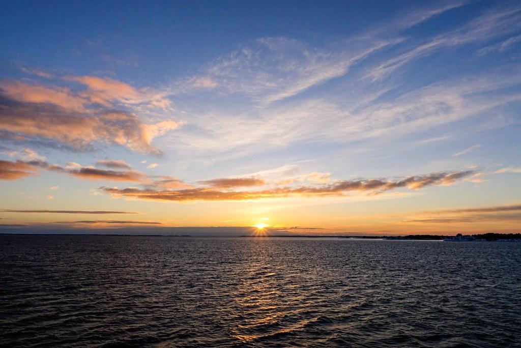 Sunrise on the Baltic!