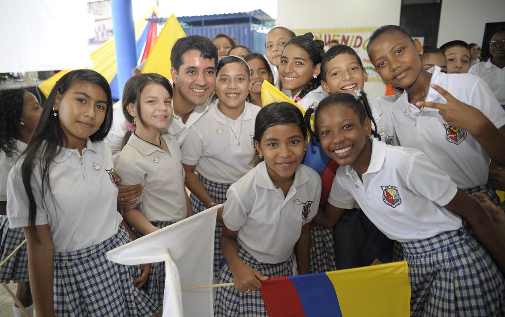 Inauguraron megacolegio-   Institución Educativa Alfredo Bonilla- Jamundí