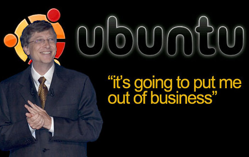 Ubuntu and Bill Gates