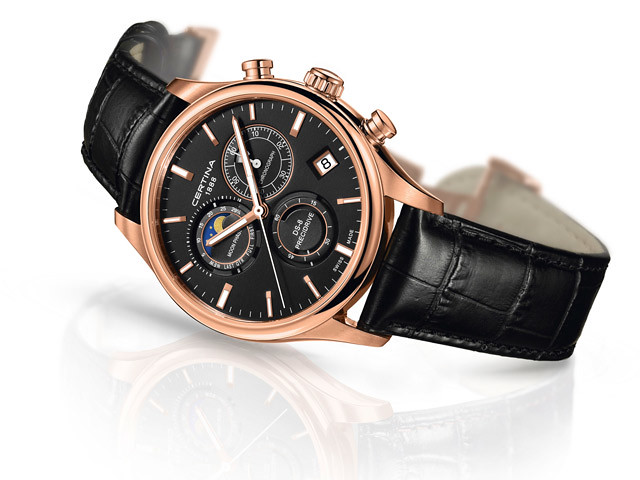 Certina, DS-8 Chronograph Moon Phase.