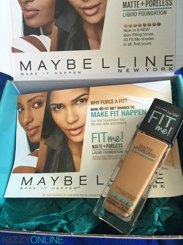 Review Maybelline Fit Me Matte Poreless Liquid Foundation