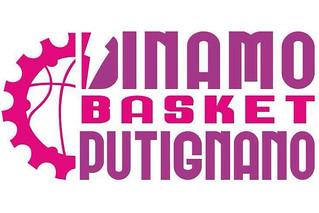 dinamo basket putignano logo rosa