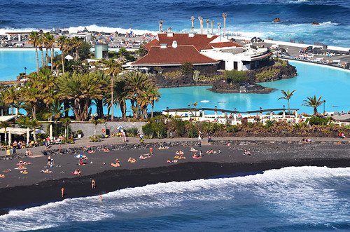 January, Playa Martianez, Tenerife