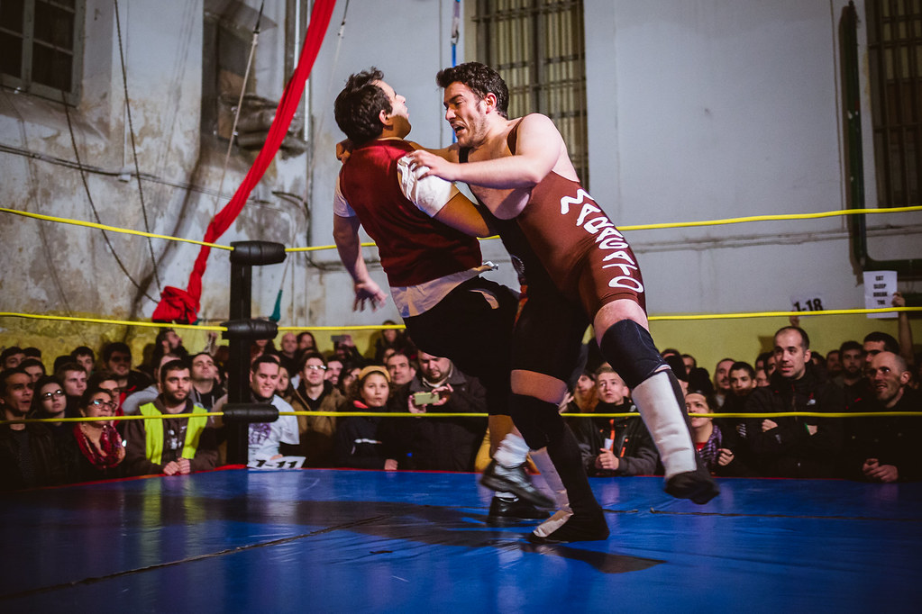 Wrestling. Overtake. Level One