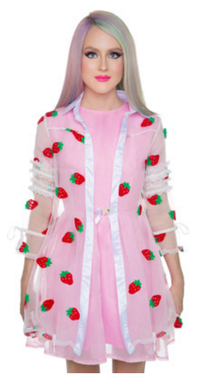 strawberry coat