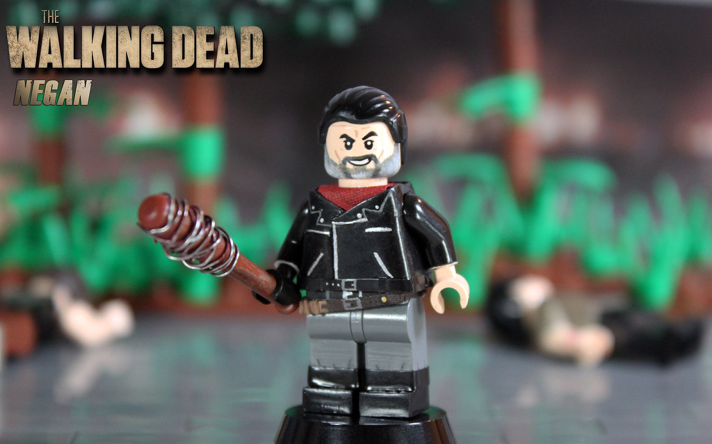 Custom Lego The Walking Dead Negan Quot Pissing Our Pants