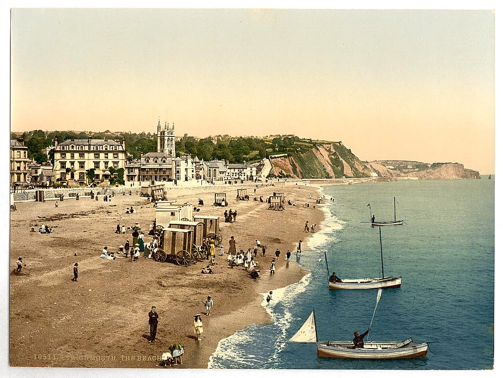 The beach, Teignmouth, Devon