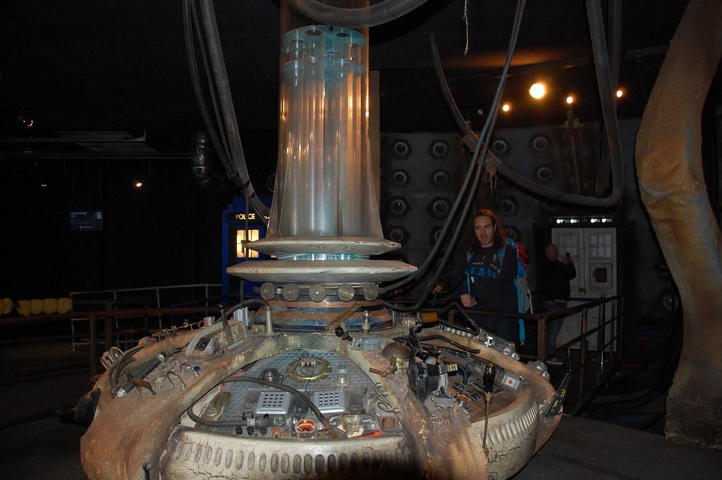 Consola de la Tardis del Décimo Doctor Who