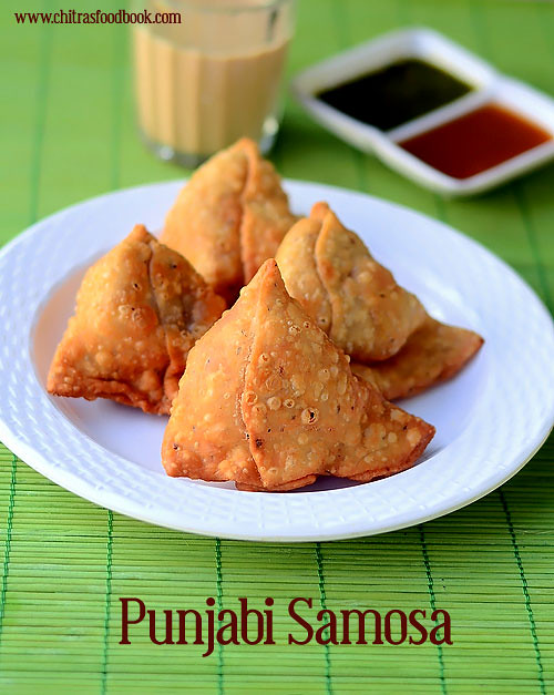 Samosa recipe how to make punjabi samosa chitras food book punjabi samosa recipe forumfinder Gallery