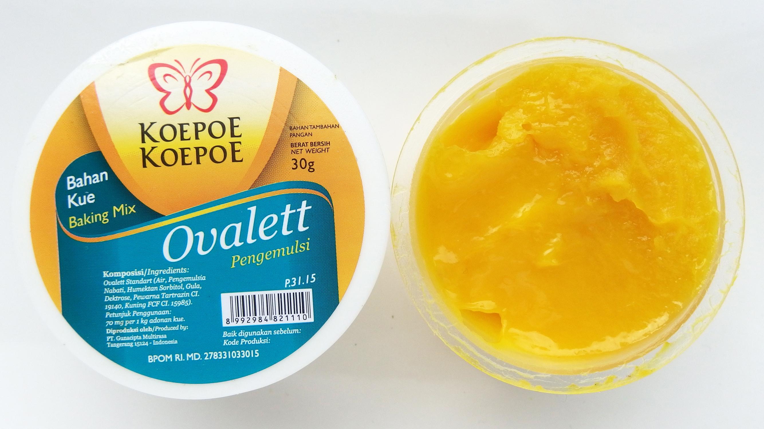 Ovalette (Ovalett, SP of TMB) | Aziatische-ingrediënten.nl