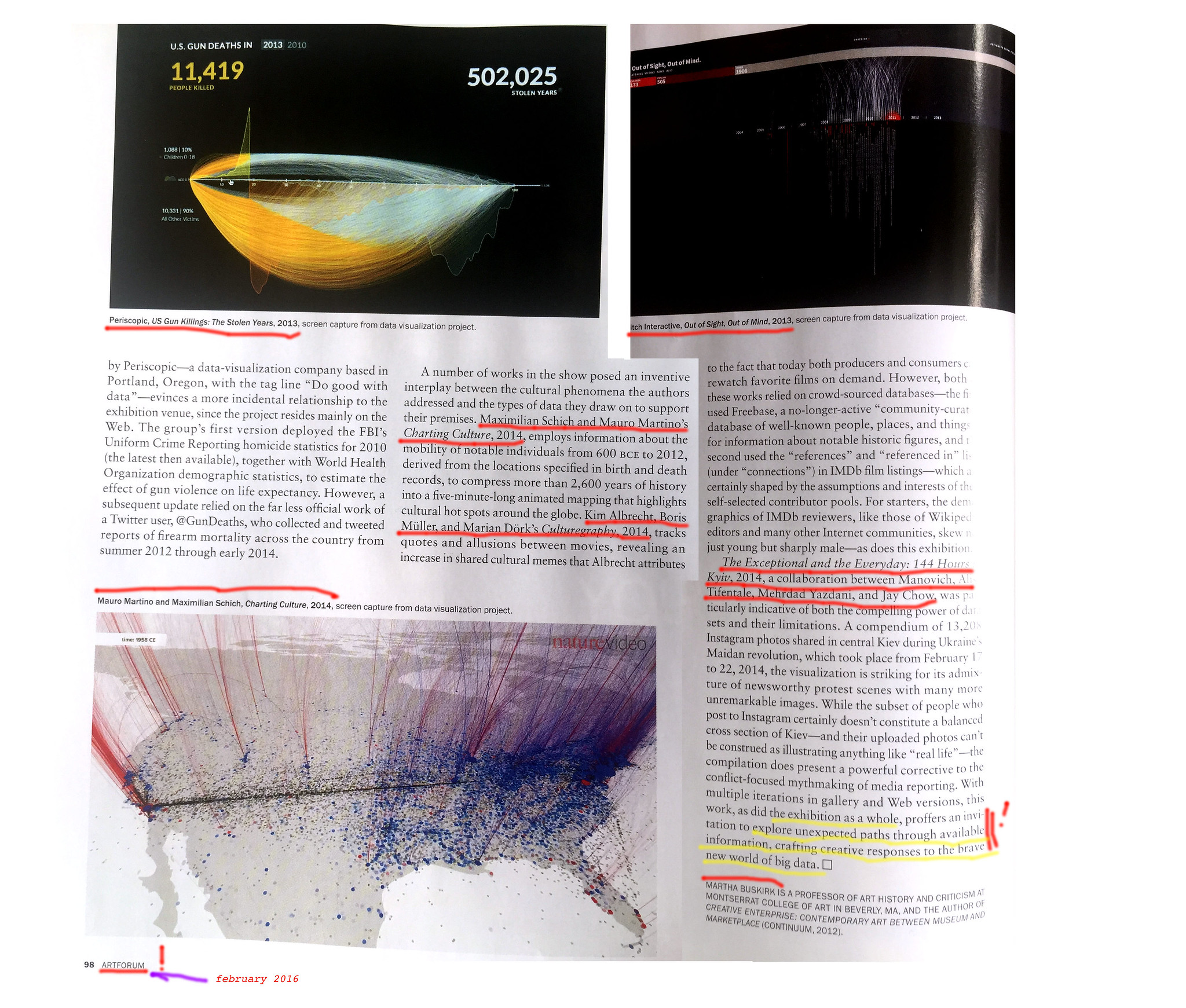 All sizes   article about Data Drift in Artforum p2   Flickr - Photo