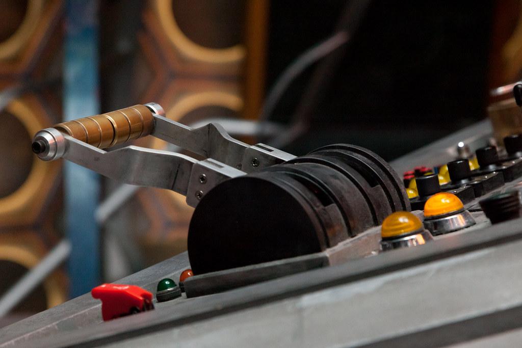 Dematerialisation Lever Twelfth Doctor S Tardis Set To