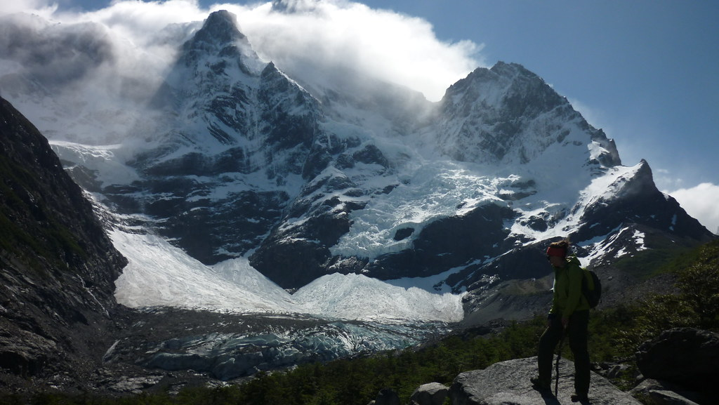 The glaciers of Paine Grande, the highest peak in the National Park!