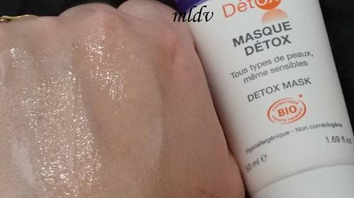 masque Chrono-Détox eau thermale jonzac revue