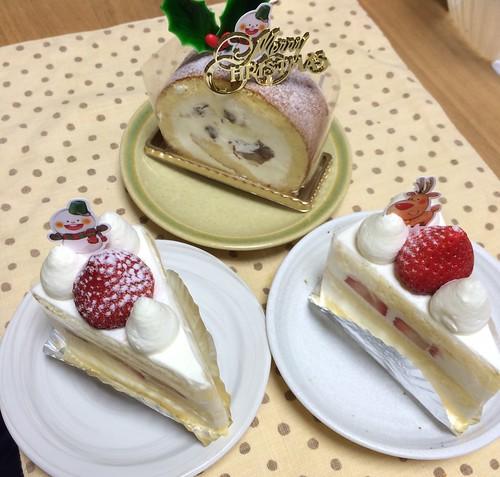 レザネフォールのケーキ