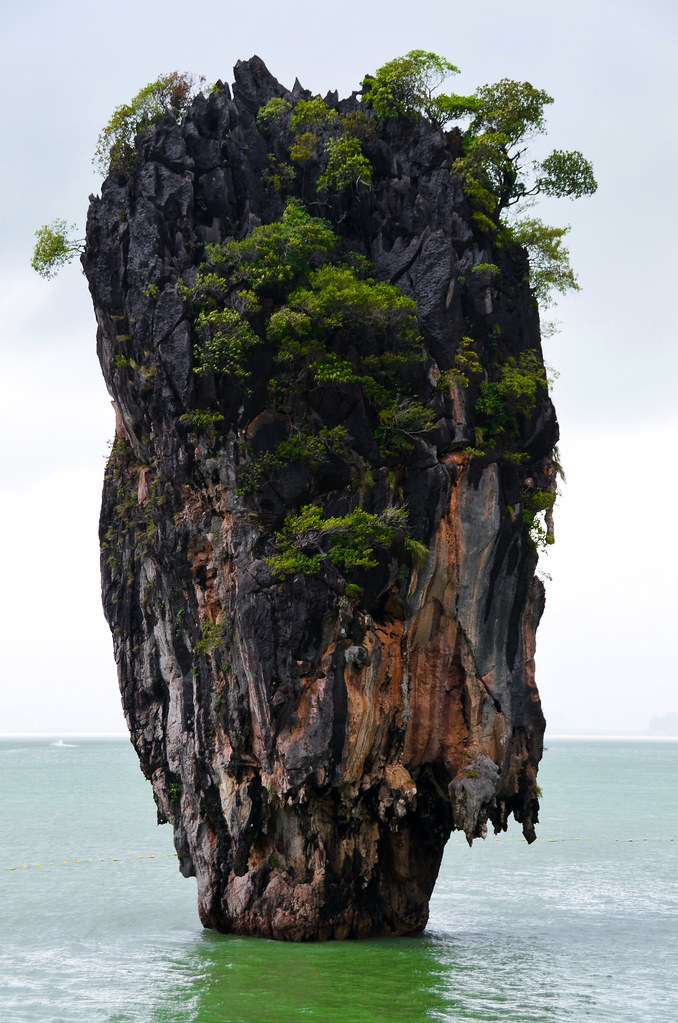 Isla de James Bond en Tailandia