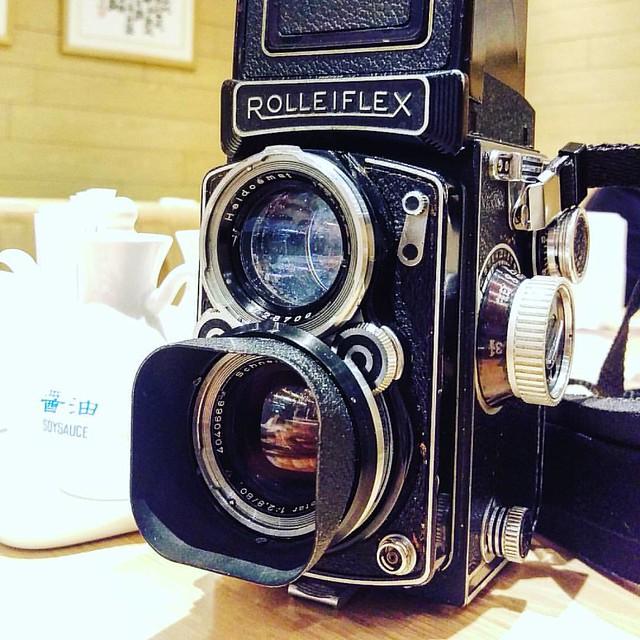 Rolleiflex 2.8C  Xenotar的正片味道