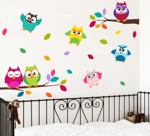 Viniles vinilos stickers decoracion infantil bs 87 - Decorar pared infantil ...