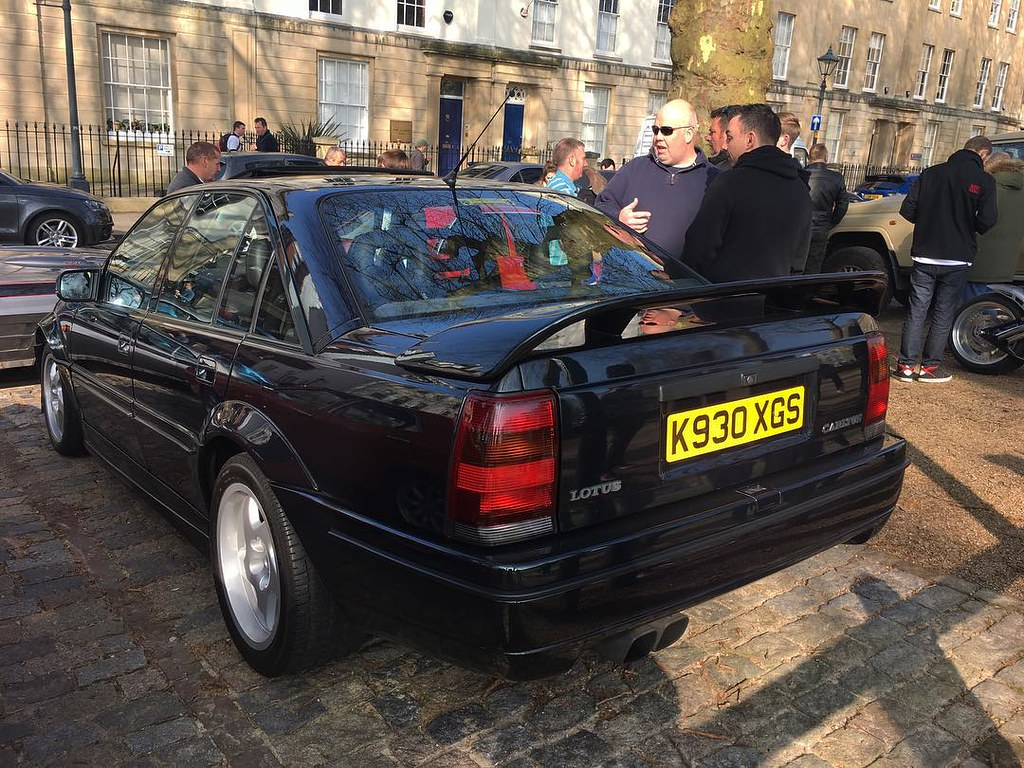 rare car now lotus carlton at queen square meet had one flickr. Black Bedroom Furniture Sets. Home Design Ideas