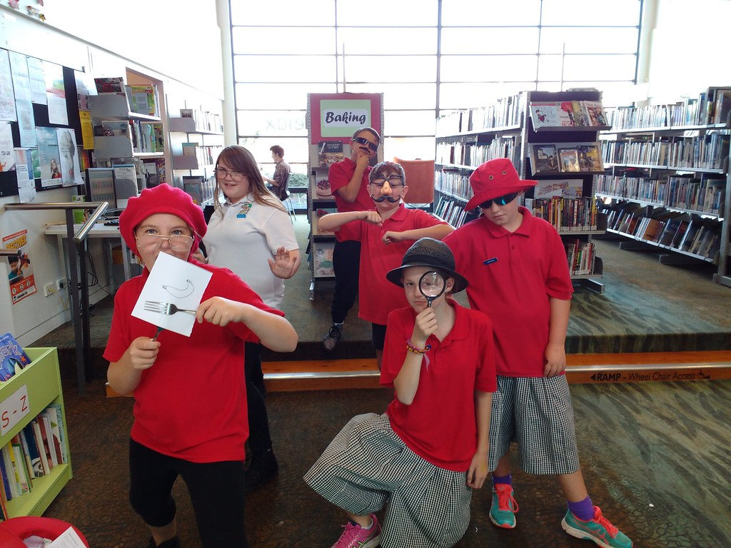 Posing posse | Photos from School Librarian Day at ...