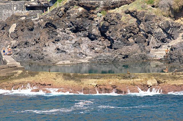 Sea pool,Crab Island, Los Gigantes, Tenerife
