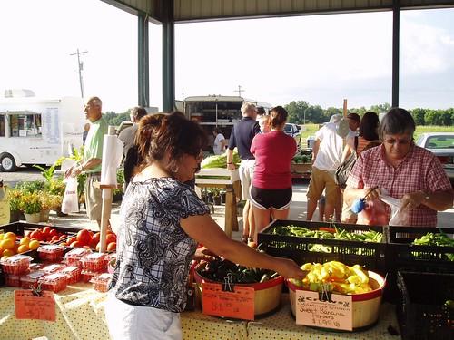 Oklahoma farmers' market