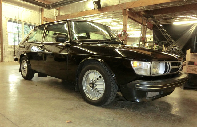 1978 Saab 99 Turbo w/ Two Parts Cars & Spares